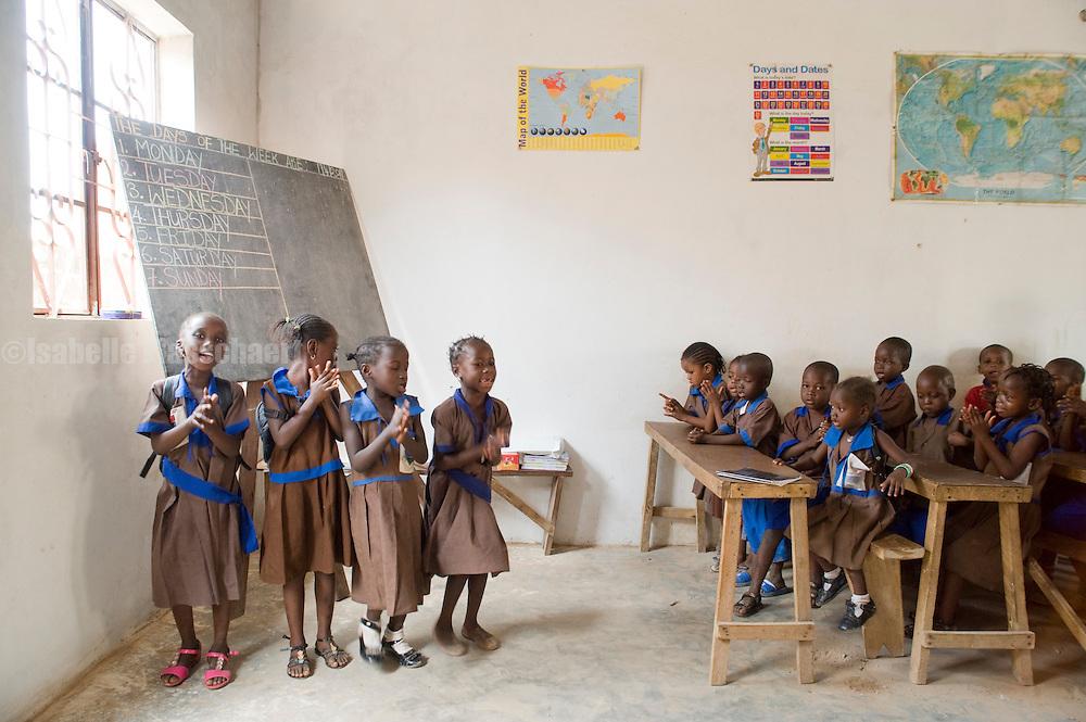 visit to the riverside nursery school run by mustapha jameh