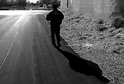 Ricky Hatton on his morning run. Ricky Hatton v Floyd Mayweather, Las Vegas, Nevada.