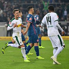 Borussia Moenchengladbach and Fortuna Duesseldorf - 4 Nov 2018