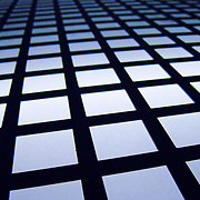 Grid lighting pattern, Granada, Spain (December 2006)