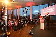 Ludwigshafen. 13.02.16 Pfalzbau. SPD Wahlkampfveranstaltung mit Anke Simon und Heike Scharfenberger. <br /> Moderation Dieter Feid<br /> Bild: Markus Proßwitz 13FEB16 / masterpress