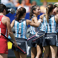 DEN HAAG - Rabobank Hockey World Cup<br /> 37 3rd Place match: Argentina - USA<br /> Foto: Luciana Aymar scored the 2-0.<br /> COPYRIGHT FRANK UIJLENBROEK FFU PRESS AGENCY