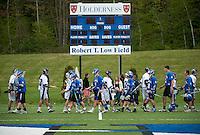 Varsity Lacrosse Holderness versus Cushing May 14, 2011.