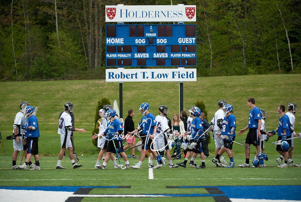 Varsity Lacrosse Holderness versus Cushing May 14, 2011.