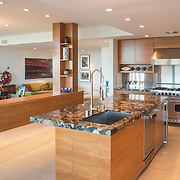 architectural photography Safdie Rabines Architects designed the Kaufman residence in 2014.
