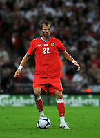 Photo: Tony Oudot/Richard Lane Photography.  England v Czech Republic. International match. 20/08/2008. <br /> David Rozehnal of Czech Republic .