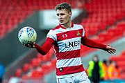 Kieran Sadlier of Doncaster Rovers during the EFL Sky Bet League 1 match between Doncaster Rovers and Wycombe Wanderers at the Keepmoat Stadium, Doncaster, England on 29 February 2020.