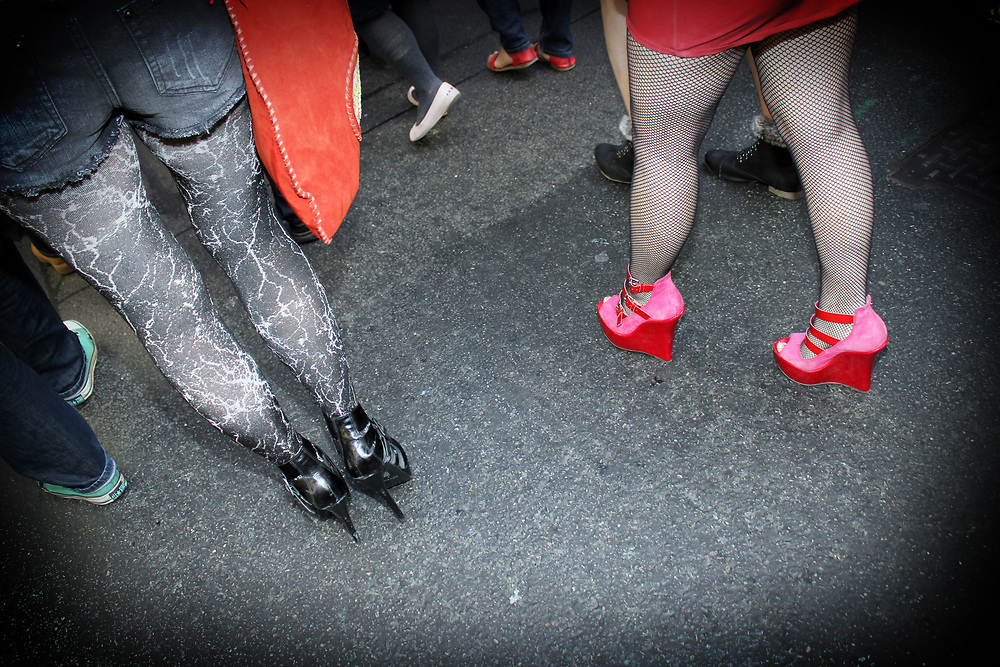 Slut Walk, london 2012