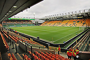 A general view of the stadium before the EFL Sky Bet Championship match between Norwich City and Blackburn Rovers at Carrow Road, Norwich, England on 27 April 2019.