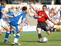 Photo: Tony Oudot.<br /> Millwall v Bristol City. Coca Cola League 1. 28/04/2007.<br /> Alex Russell of Bristol City shoots for goal