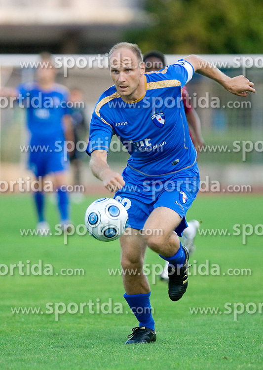 Milan Osterc of Gorica at 1st football match of 2nd preliminary Round of UEFA Europe League between ND Gorica and FC Lahti, on July 16 2009, in Nova Gorica, Slovenia. (Photo by Vid Ponikvar / Sportida)