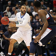Marquel Curtis, Tulsa, in action during the UConn Huskies Vs Tulsa Semi Final game at the American Athletic Conference Men's College Basketball Championships 2015 at the XL Center, Hartford, Connecticut, USA. 14th March 2015. Photo Tim Clayton