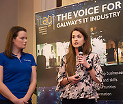 Repro  Free: Laura Kennedy and Ciara McDonnell Smart bear at  ITAG Members Update evening where some of the Nominees pitched their projects.   <br /> The ITAG Excellence Awards will take place on  November 17th Hotel Meyrick, Eyre Square, Galway.<br /> Winners in the following categories will be announced: <br />     New Talent of the Year Award<br />     Digital Woman Awards<br />     Emerging Technology Start Up Award<br />     Leadership Award<br />     Technology Innovation of the Year Award<br />     Digital Project Award<br />     ITAG Digital Enterprise Award &lt; 50 Employees<br />     ITAG Digital Enterprise Award &gt; 50 Employees.<br />  <br />  Photo:Andrew Downes, xposure.
