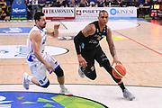 Joao Gomes<br /> Dolomiti Energia Aquila Basket Trento - Happy Casa New Basket Brindisi<br /> LegaBasket Serie A 2017/2018<br /> Trento, 08/04/2018<br /> Foto M.Ceretti / Ciamillo - Castoria