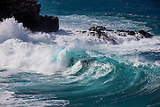 Large Surf, Nakalele Coast, Maui, Hawaii