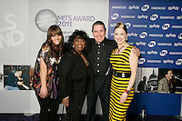 Rumer, Ruby Turner, Jools Holland and Imelda May at the 2011 MITs Award. Held at the Grosvenor Hotel London in aid of Nordoff Robbins and the BRIT School. Monday, Nov.7, 2011