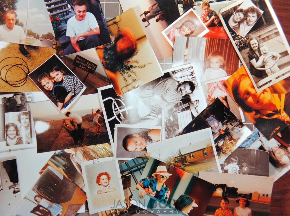 Doiy family collage.Circa 1992