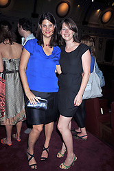 Left to right, Katrina Pavlos and HOLLY GILLIAM at a special screening of Time Bandits by Terry Gilliam hosted by Faber-Castell and GQ magazine held at The Electric Cinema, 191 Portobello Road, London W11 on 29th June 2009.