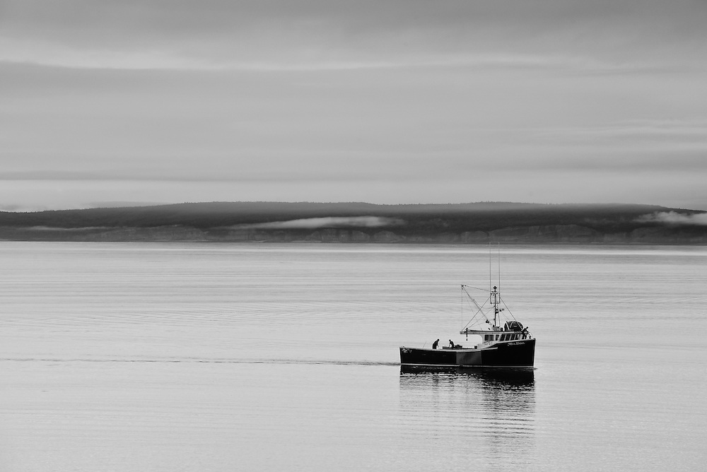 Nova Scotia Lobster Boat, Hall's Harbour, N.S.