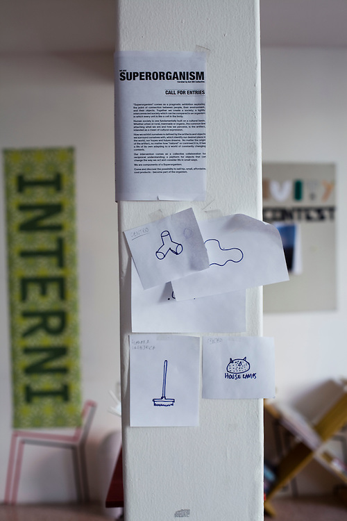 Details in the office of Emiliano Godoy in Mexico City.
