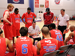 Time out - Photo mandatory by-line: Paul Knight/JMP - Mobile: 07966 386802 - 30/01/2016 - BASKETBALL - SGS Wise Arena - Bristol, England - Bristol Flyers v Leeds Force - British Basketball League