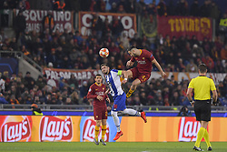 February 12, 2019 - Roma, Roma, Italia - Foto Luciano Rossi/AS Roma/ LaPresse.12/02/2019 Roma (Italia).Sport Calcio.AS Roma - Porto  .Uefa Champions League 2018 2019 - Stadio Olimpico di Roma.Nella foto: Konstaninos Manolas, Hector Herrera..Photo  Luciano Rossi/AS Roma/ LaPresse.12/02/2019 Roma (Italia).Sport Soccer.AS Roma - Porto   .Uefa Champions League 2018 2019 - Olimpic Stadium of Roma (Italy).In the pic: Konstaninos Manolas, Hector Herrera (Credit Image: © Luciano Rossi/Lapresse via ZUMA Press)