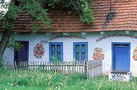 Painted house. Zalipie. Poland