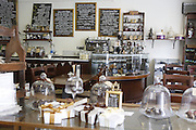 Chocolate is on sale inside York Cocoa House Tearoom, in York, Yorkshire, England, United Kingdom.