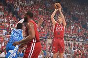 DESCRIZIONE :  Lega A 2014-15  EA7 Milano -Banco di Sardegna Sassari playoff Semifinale gara 7<br /> GIOCATORE : Melli Nicolò<br /> CATEGORIA : Low Tiro Tre Punti <br /> SQUADRA : EA7 Milano<br /> EVENTO : PlayOff Semifinale gara 7<br /> GARA : EA7 Milano - Banco di Sardegna Sassari PlayOff Semifinale Gara7<br /> DATA : 10/06/2015 <br /> SPORT : Pallacanestro <br /> AUTORE : Agenzia Ciamillo-Castoria/Richard Morgano<br /> Galleria : Lega Basket A 2014-2015 Fotonotizia : Milano Lega A 2014-15  EA7 Milano - Banco di Sardegna Sassari playoff Semifinale  gara 7<br /> Predefinita :