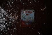 JINGZHOU, CHINA - JUNE 07: (CHINA OUT)<br /> <br /> Interior View Of Capsized Eastern Star <br /> <br />  An boarding pass is seen in the capsized Eastern Star cruise ship on June 7, 2015 in Jingzhou, Hubei Province of China. A passenger ship named Dongfangzhixing (Eastern Star) carrying over 400 people, including 406 Chinese passengers, 5 travel agency workers and 47 crew members aboard, according to the administration, sank at around 9:28 p.m. on Monday in the Jianli (Hubei Province) section of the Yangtze River. The death toll of the capsized cruise Eastern Star reached 432 on Sunday, leaving 10 still missing and 14 survived. Further rescue work continues in the accident site. <br /> ©Exclusivepix Media
