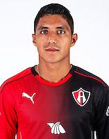 Mexico League - BBVA Bancomer MX 2016-2017 / <br /> Rojinegros - Club Atlas de Guadalajara Fc - Mexico / <br /> Candido Saul Ramirez Montes