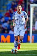 Slovakia defender Milan Skriniar during the UEFA European 2020 Qualifier match between Wales and Slovakia at the Cardiff City Stadium, Cardiff, Wales on 24 March 2019.