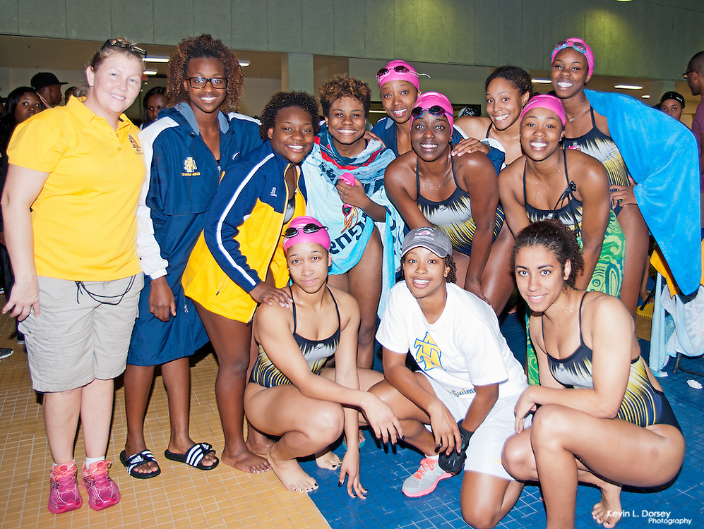 2014 A&T Swimming vs Howard University