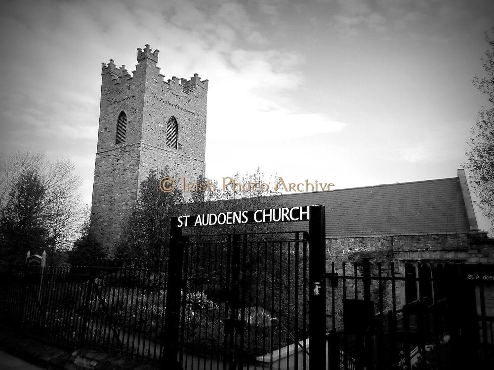Saint Audeonís Church, High Street, Dublin, c.1190