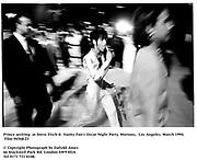 Prince arriving  at Steve Tisch &  Vanity Fair's Oscar Night Party,<br /> Mortons,  Los Angeles. March 1994.  Film 94568/23<br />  <br /> © Copyright Photograph by Dafydd Jones<br /> 66 Stockwell Park Rd. London SW9 0DA<br /> Tel 0171 733 0108.
