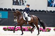 Lynne Maas - Fantastique<br /> WK Selectie Jonge Dressuurpaarden 2017<br /> © DigiShots