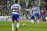 Reading FC midfielder Oliver Norwood on the ball during the The FA Cup Quarter Final match between Reading and Crystal Palace at the Madejski Stadium, Reading, England on 11 March 2016. Photo by Mark Davies.