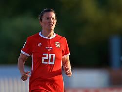 NEWPORT, WALES - Tuesday, June 12, 2018: Wales' Helen Ward during the FIFA Women's World Cup 2019 Qualifying Round Group 1 match between Wales and Russia at Newport Stadium. (Pic by David Rawcliffe/Propaganda)