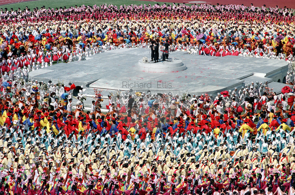 Seoul Summer Olympics opening ceremonies September 17, 1988 in Seoul, South Korea.