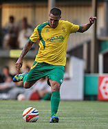 Picture by David Horn/Focus Images Ltd +44 7545 970036<br /> 16/07/2013<br /> Ex Luton player Ryan Charles of Hitchin Town during the Pre Season Friendly match at Top Field, Hitchin.