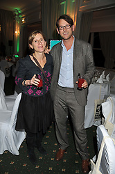 MARK & ZIVI SAINSBURY at a dinner in aid of the charity Save The Rhino held at ZSL London Zoo, Regents Park, London NW1 on 16th November 2011.