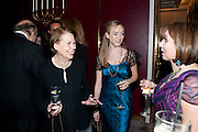 DRUSILLA BEYFUS; ANDORA MCCORMICK; SARAH SANDS, 56th London Evening Standard Theatre Awards. Savoy Hotel. London. 28 November 2010.  -DO NOT ARCHIVE-© Copyright Photograph by Dafydd Jones. 248 Clapham Rd. London SW9 0PZ. Tel 0207 820 0771. www.dafjones.com.