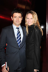 TOM CHAMBERS and CLARE HARDING at the MontBlanc John Lennon Launch, The Serpentine Gallery, Kensington Gardens, London on 14th September 2010.