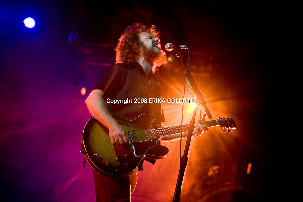 My Morning Jacket peforms on Which Stage at Bonnaroo Music Festival in Manchester, TN. June 13, 2008 (C) Erika Goldring / Retna Ltd.