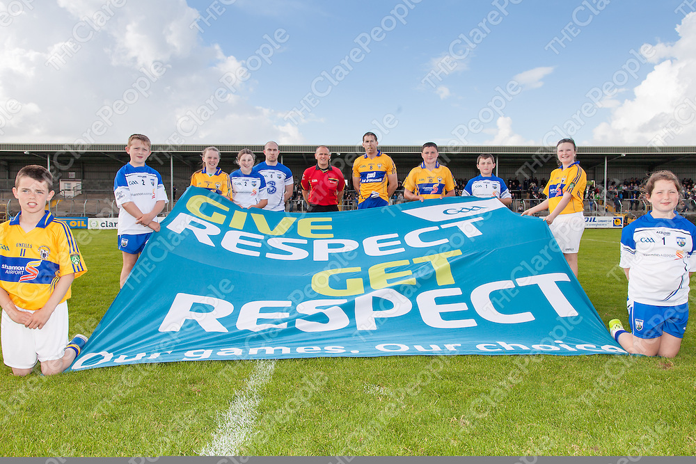 Clare V Waterford Senior Football Championship