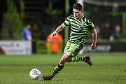 Forest Green Rovers Matty Stevens(9) on the ball during the EFL Sky Bet League 2 match between Forest Green Rovers and Port Vale at the New Lawn, Forest Green, United Kingdom on 11 February 2020