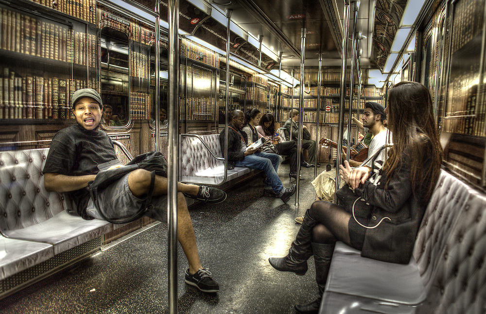 New York City Subway HDR Photography