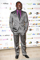 Gbenga Akinnagbe (actor and producer), Screen Nation Film & Television Awards, Park Plaza Riverbank Hotel, London UK, 23 February 2014, Photo by Vickie Flores.