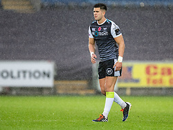 Tiaan Thomas-Wheeler of Ospreys<br /> <br /> Photographer Simon King/Replay Images<br /> <br /> Guinness PRO14 Round 6 - Ospreys v Southern Kings - Saturday 9th November 2019 - Liberty Stadium - Swansea<br /> <br /> World Copyright © Replay Images . All rights reserved. info@replayimages.co.uk - http://replayimages.co.uk