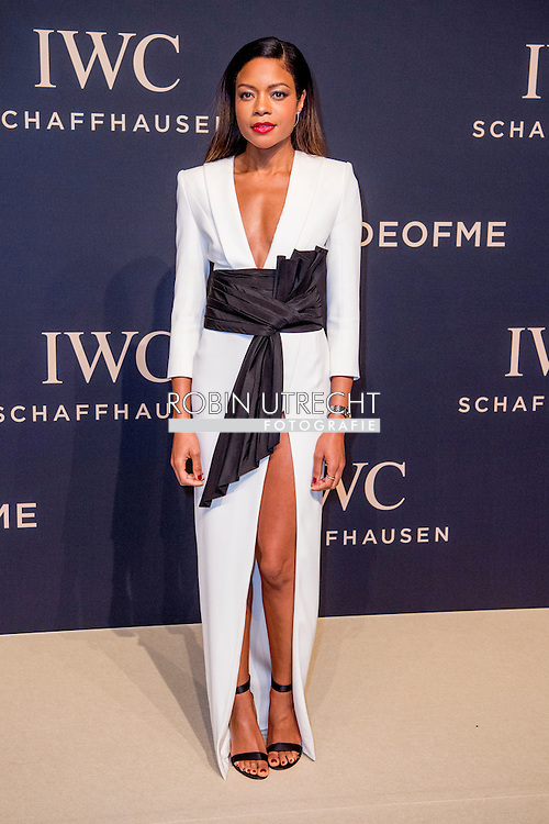 17-1-217 -GENEVE GENEVA SWITSERLAND SWISS ZWITSERLAND -  NAOMIE HARRIS SIHH 2017  IWC gala event «Decoding the Beauty of Time» COPYRIGHT ROBIN UTRECHT